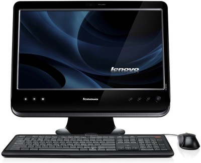 Buy Lenovo Essential C200 / 1GB / 320GB / DOS (Black): All In One Desktop