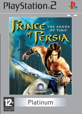 Prince Of Persia The Sands Of Time - Platinum - Games, PS2