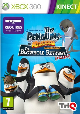 Buy The Penguins Of Madagascar: Dr. Blowhole Returns Again! (Kinect Required): Av Media