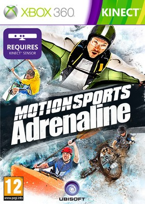Buy Motionsport Adrenaline (Kinect Required): Av Media