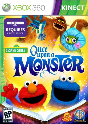 Buy Sesame Street - Once Upon A Monster (Kinect Required): Av Media