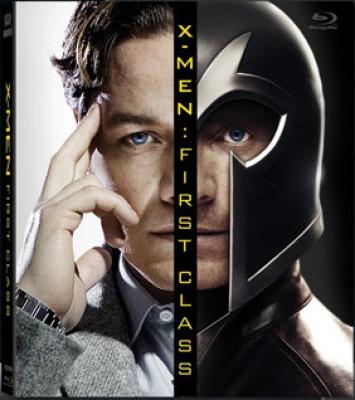 Buy X-Men First Class (Bluray Book Special Edition): Av Media
