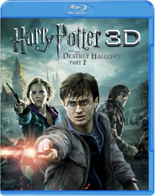 Buy Harry Potter And The Deathly Hallows - Part 2 3D (3D Bluray): Av Media
