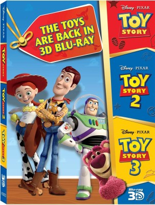 Buy 3D Bluray Pack 2 (Toy Story, Toy Story 2, Toy Story 3) (3D Blu-ray): Av Media