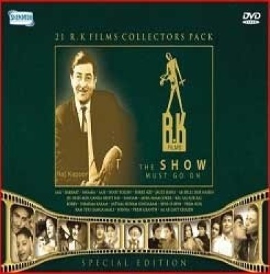 Buy R K Films Collectors 21 DVD Pack - The Show Must Go On: Av Media