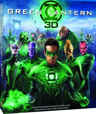 Buy Green Lantern (3D Bluray): Av Media