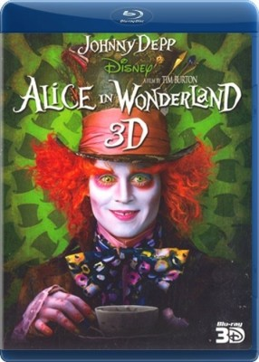 Buy Alice In Wonderland (3D Bluray): Av Media