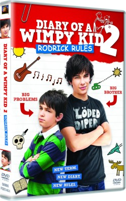 Buy Diary Of A Wimpy Kid 2: Rodrick Rules: Av Media
