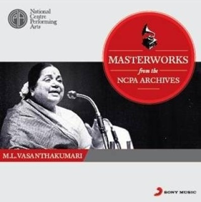 Buy Masterworks From The NCPA Archives - M L Vasanthakumari: Av Media