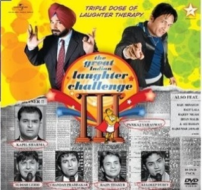 Buy The Great Indian Laughter Challenge 3: Av Media