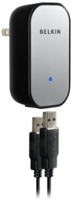 Buy Belkin F8Z145 Dual USB Power Adapter (iPhone and iPod Charger): Battery Charger