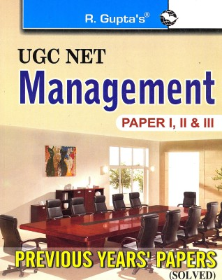 Buy UGC NET - Management (Paper 1, 2 & 3) : Previous Year's Papers (Solved) 1st  Edition: Book