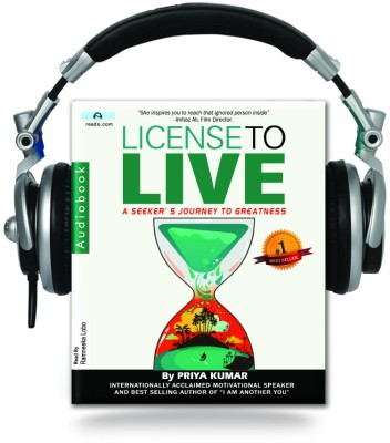 Buy License to live (Audiobook): Book