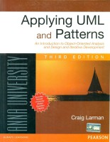 Applying UML and Patterns : An Introduction to Object-Oriented Analysis and Design and Iterative Development (ANNA UNIV): Book