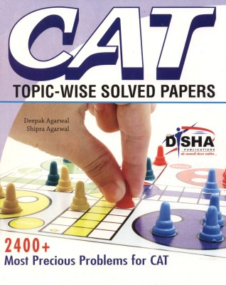 Buy CAT Topic-Wise Solved Papers: Book