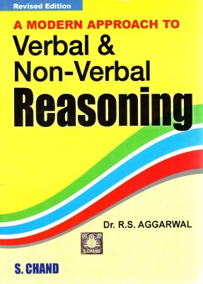 Buy A MODERN APPROACH TO VERBAL AND NON VERBAL REASONING Revised Edition: Book