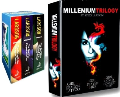 Buy Complete Millennium Trilogy Box Set (With Movie DVD) (English): Book