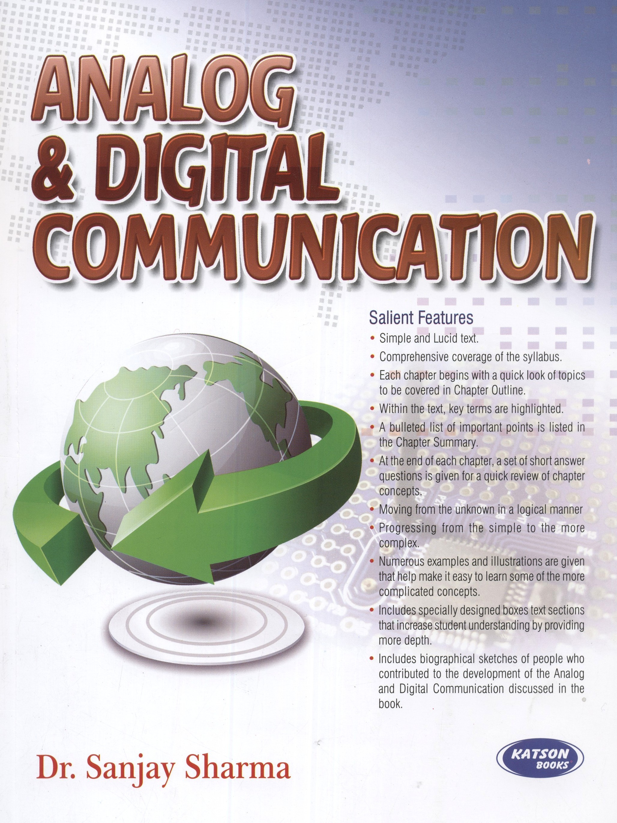 Analog & Digital Communication Engineering  English  1st Edition available at Flipkart for Rs.325