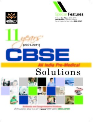 Buy 11 Years' CBSE All India Pre-Medical Solutions 1st Edition: Book
