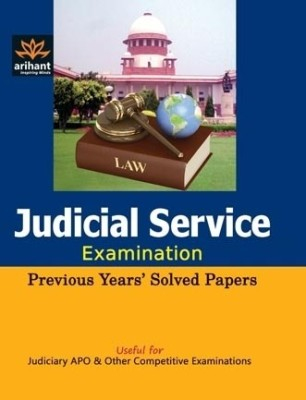 Buy Judicial Service Examination (Previous Years' Solved papers) (English): Book