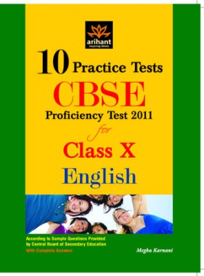 CBSE English Proficiency Test 2011 for Class X: 10 Practice Tests (English) price comparison at Flipkart, Amazon, Crossword, Uread, Bookadda, Landmark, Homeshop18