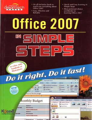 Buy Office 2007 In Simple Steps (English) 1st Edition: Book