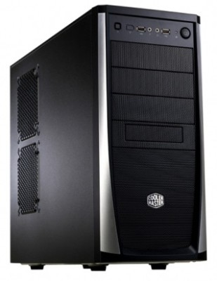 Buy Cooler Master Elite 371 Mid Tower Cabinet: Cabinet
