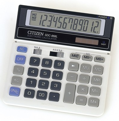 Buy Citizen SDC-868 L Basic: Calculator