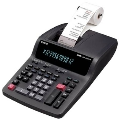 Buy Casio DR 120 TM BK Printing: Calculator