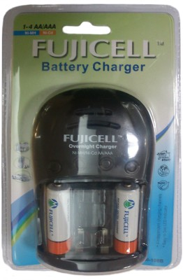 Buy Fujicell FUJI-108B (With 2 Ni-MH AA 2100 Batteries) Battery Charger: Camera Battery Charger