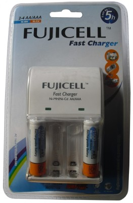 Buy Fujicell BC 1002C Charger (With 2 NI-CD AA 1100MAH Batteries) Battery Charger: Camera Battery Charger