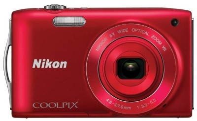 Buy Nikon Coolpix S3300 Point & Shoot Camera: Camera