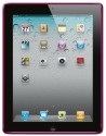 Amzer 90785 Luxe Argyle High Gloss TPU Soft Gel Skin Case For Apple IPad 2 - Hot Pink