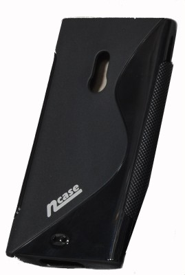 Buy nCase Back Cover PFBC-8511BK for Nokia Lumia 800 (Black): Cases Covers