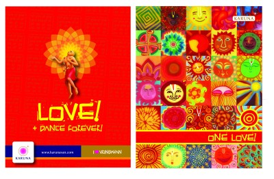 Buy Karunavan Vrindavan Series One Love Journal Non Spiral Soft Bound: Diary Notebook