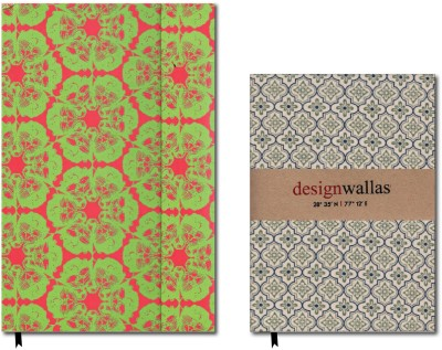 Buy Designwallas Festive Pack (Set of 2) Assorted Notebook Hard Bound: Diary Notebook