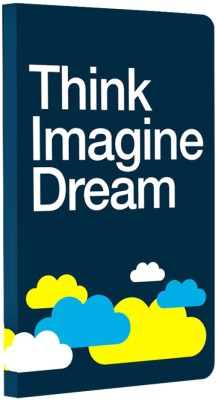 Buy Letternote Vivid Series Think Imagine Dream Notebook Soft Bound: Diary Notebook
