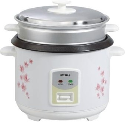 Havells MAX COOK 1.8 OL 1.8 L Electric Rice Cooker with Steaming Feature