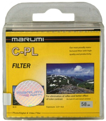 Buy Marumi 58 mm Circular Polarizer Filter: Filter