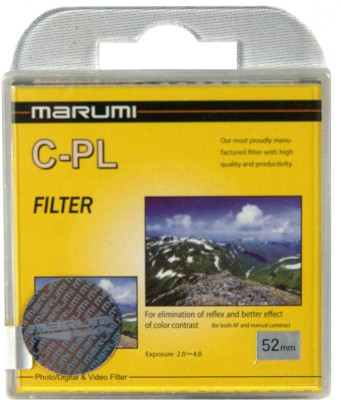 Buy Marumi 52 mm Circular Polarizer Filter: Filter