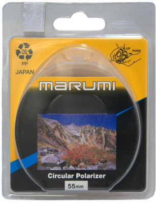 Buy Marumi 55 mm Circular Polarizer Polarizing Filter (CPL): Filter
