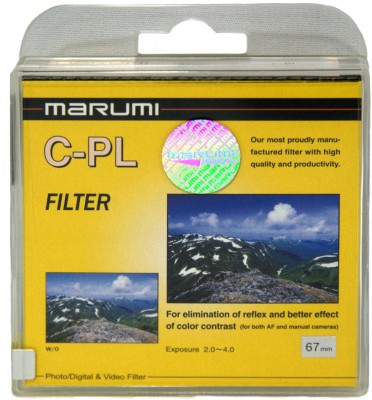 Buy Marumi 67 mm Circular Polarizer Filter: Filter