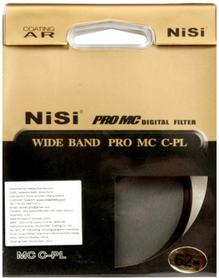 Buy Nisi 62 mm Circular Polarizer Filter: Filter