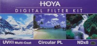 Hoya Digital Filter kit 58 mm Filter: Filter