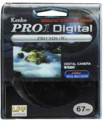 Kenko Pro 1D ND8 W 67 mm Filter available at Flipkart for Rs.3700