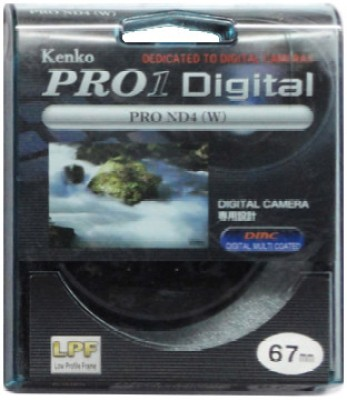 Kenko Pro 1D ND4 W 67 mm Filter available at Flipkart for Rs.3074
