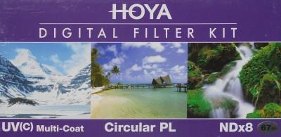 Buy Hoya Digital Filter kit 67 mm Polarizing Filter (CPL), UV Filter, ND Filter: Filter