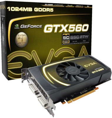 Buy EVGA GeForce GTX 560 Superclocked: Graphics Card