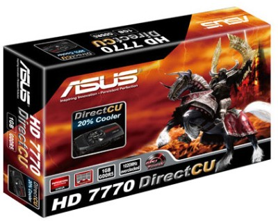 Buy Asus AMD/ATI HD 7770 Direct CU 1 GB GDDR5 Graphics Card: Graphics Card