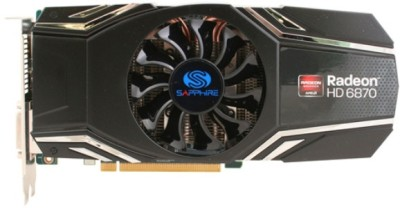 Buy Sapphire AMD/ATI Radeon HD 6870 1 GB GDDR5 Graphics Card: Graphics Card
